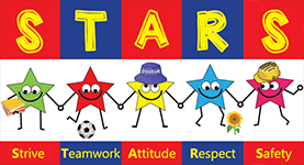 Mission statement, STARS strive towards attitude respect and safety